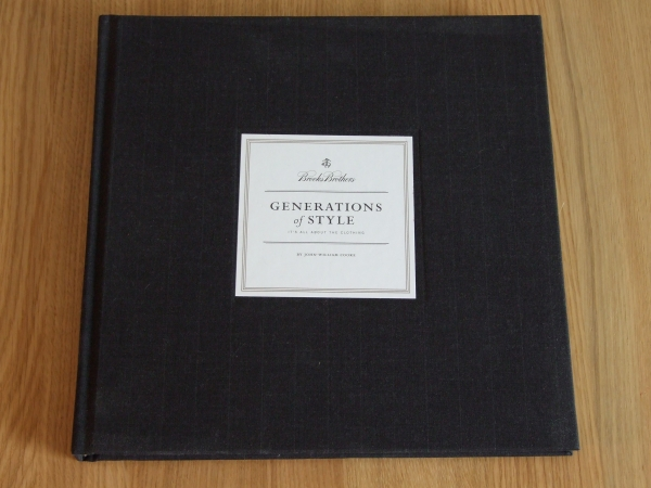 Brooks Brothers - Generations of Style book