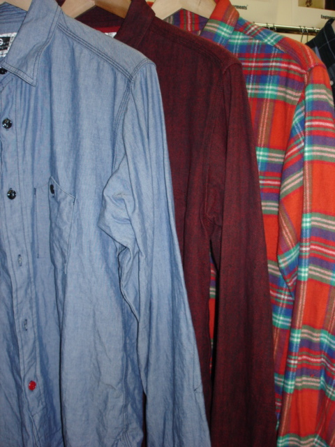 Engineered Garments Work Shirts