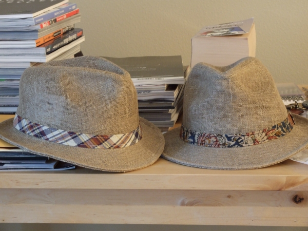 Engineered Garments Linen Fedoras