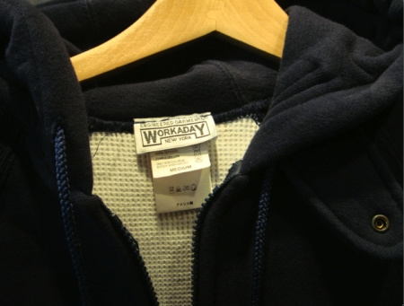 Engineered Garments Workaday Hoodie - Black