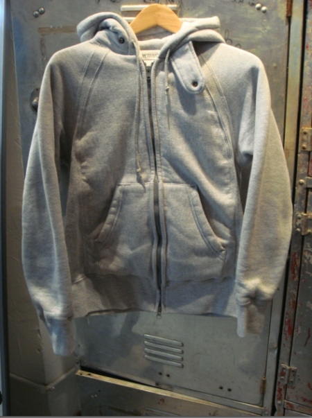 Engineered Garments Workaday Hoodie - Grey