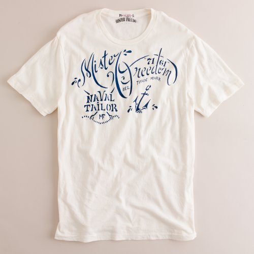 Mister Freedom tshirt for J.Crew - 1