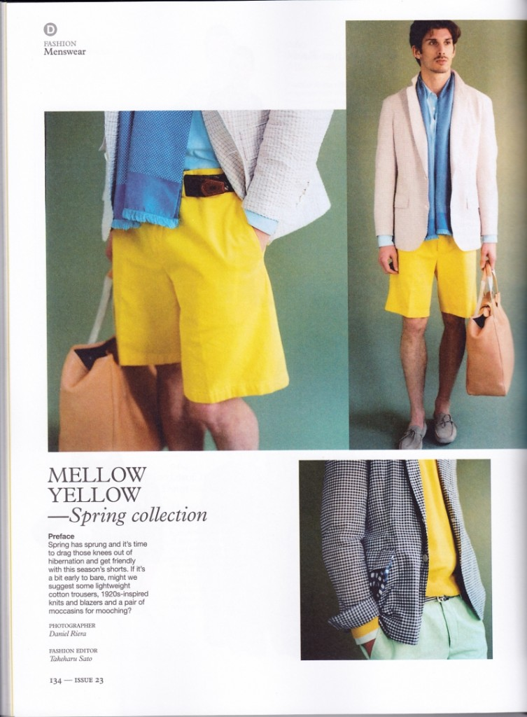 Spring Colors - Yellow, Monocle