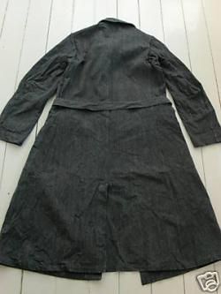 Vintage Workshop Coat - Back View