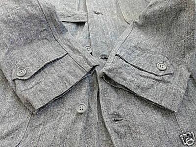 Vintage Workshop Coat - Waist Pockets