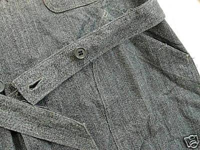 Vintage Workshop Coat - Belt and Buttons