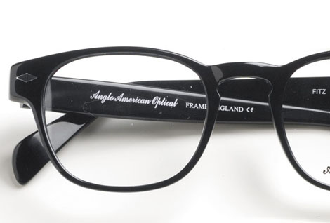 Ben Silver Black Rectangular Frame