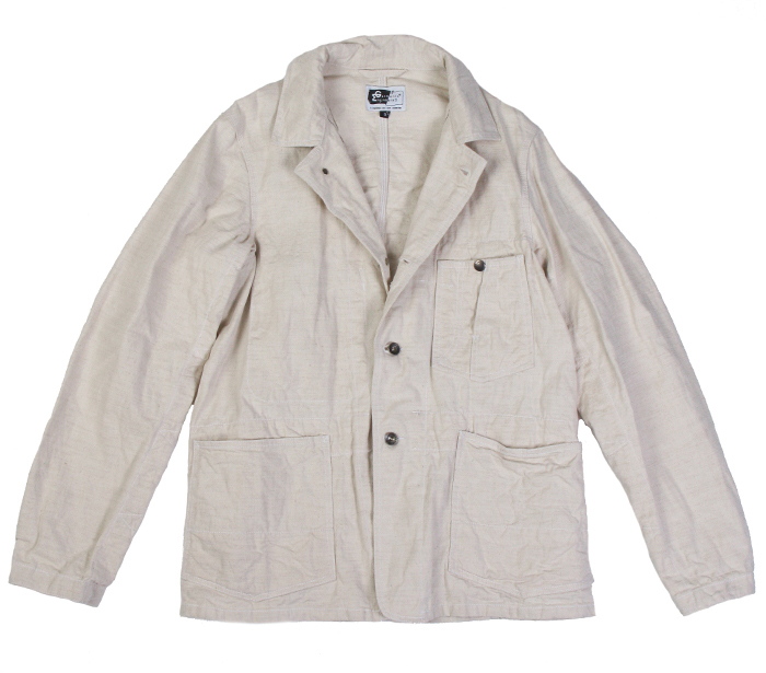 Engineered Garments Engineer Jacket - Natural 2
