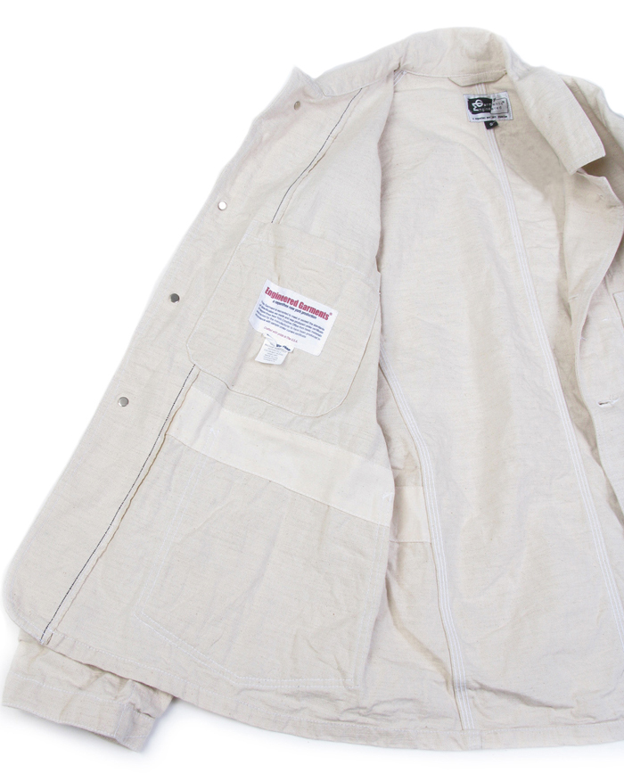 Engineered Garments Engineer Jacket - Natural 3