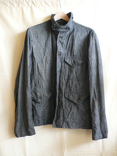 Engineered Garments Field Shirt Jacket - Grey