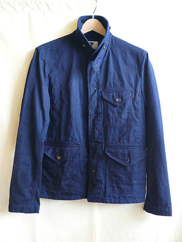 Engineered Garments Field Shirt Jacket - Navy