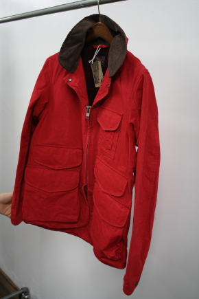 Woolrich Woolen Mills Red Field Jacket