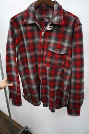 Woolrich Woolen Mills Red Shadow Plaid Shirt