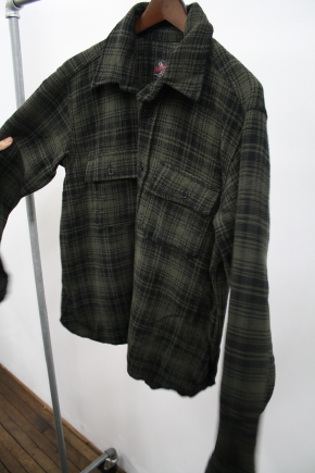 Woolrich Woolen Mills Dark Plaid Shirt
