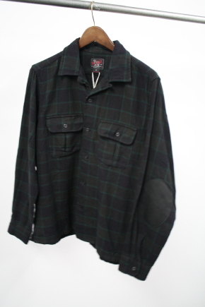 Woolrich Woolen Mills Windowpane Plaid Shirt