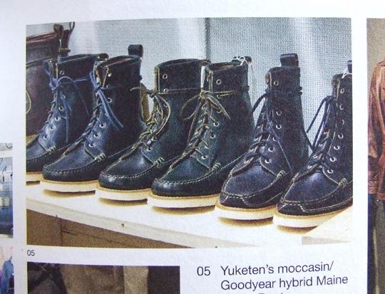 Yuketen Goodyear Welted Boots