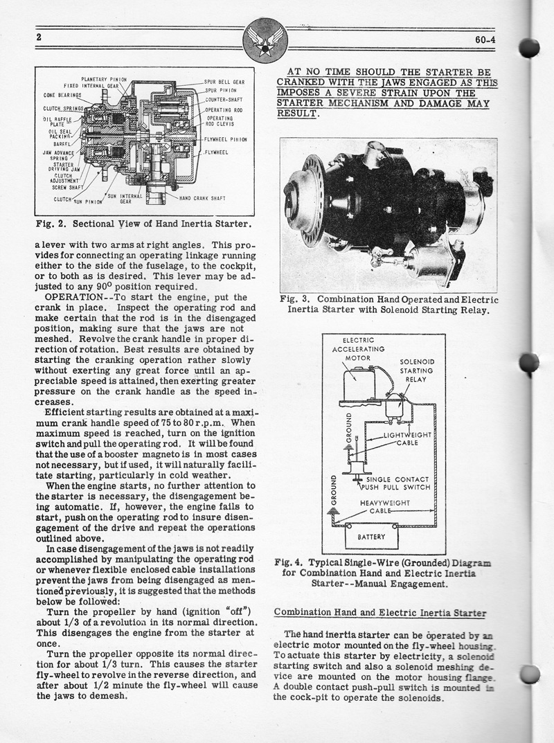 Airplane Engine Manual - 2