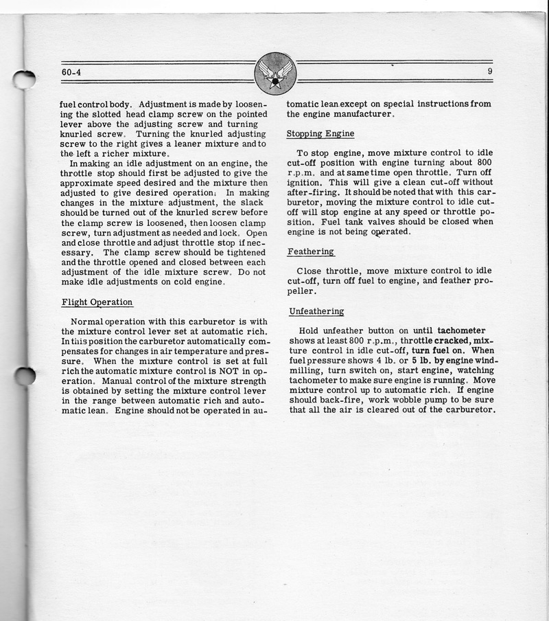 Airplane Engine Manual - 7