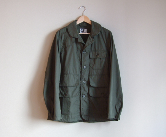 Engineered Garments Bird Shooter Jacket - Front View
