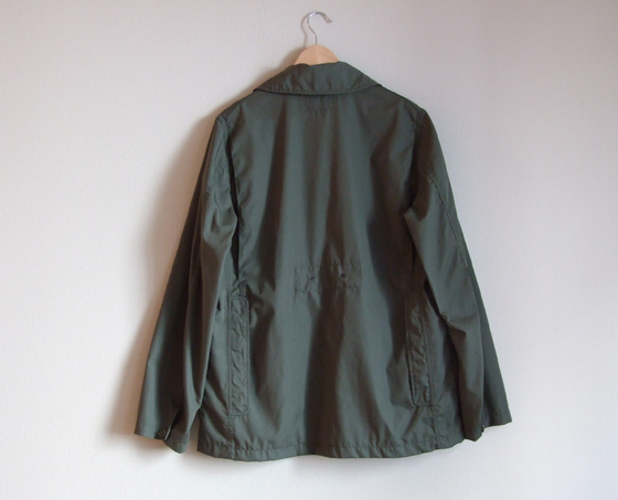 Engineered Garments Bird Shooter Jacket - Back View