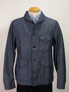 eEngineered Garments Shawl Collar Shirt Jacket - Chambray