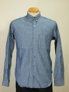 Engineered Garments Chambray Tab Collar Shirt