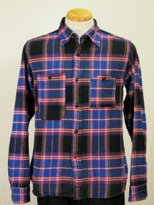 Engineered Garments Black Plaid Workshirt