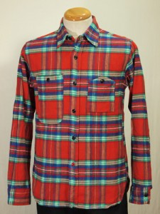 Engineered Garments Red Plaid Workshirt