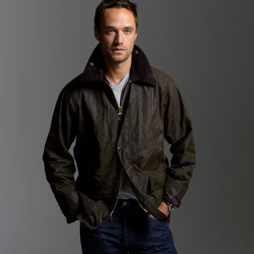 Jcrew Barbour Sylkoil Bedale jacket