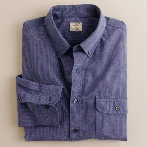 Jcrew flap-pocket button-down shirt