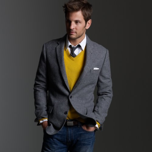 Jcrew solid tweed sportcoat