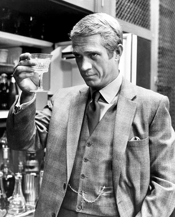 Thomas Crown Affair Steve McQueen Suit