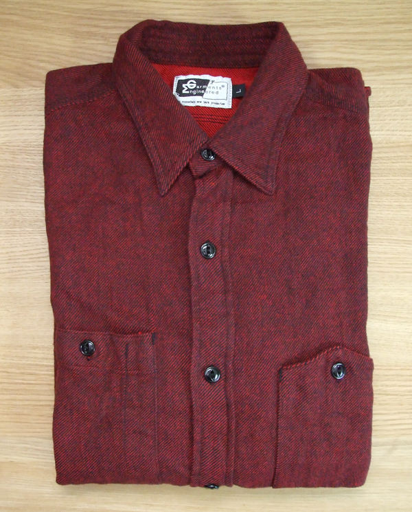 Engineered Garments Red Twill Workshirt