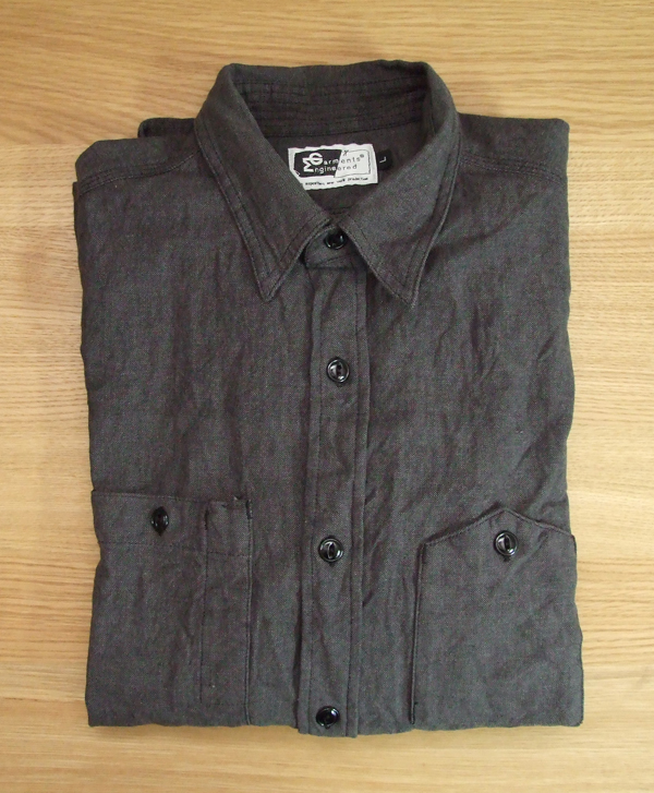 Engineered Garments Black Chambray Workshirt