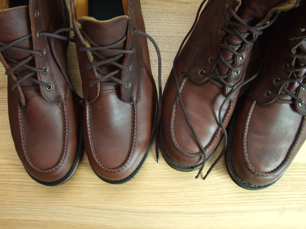 Filson Upland Boots and Chukkas - Top View