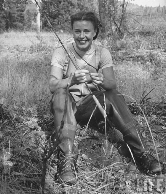 Ginger Rogers Fly Fishing Life