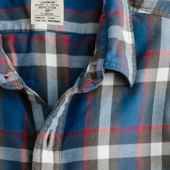 J.Crew Youngstown flannel shirt