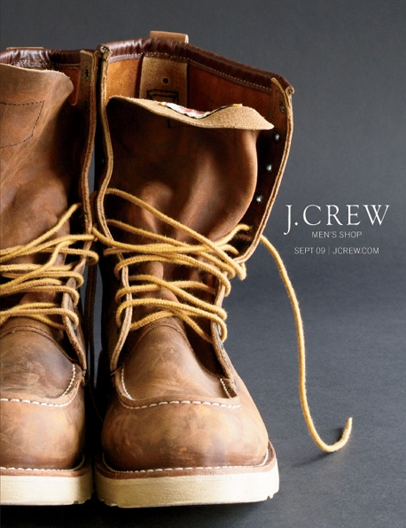 J.Crew Men's Catalog Cover September 2009