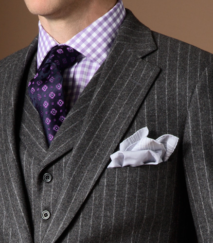 Paul stuart and phineas cole fall 2009 mister crew for Shirt and tie for charcoal suit