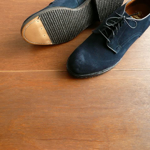Alden navy suede shoes 2