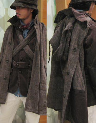 Engineered Garments FW2009 Cape 1