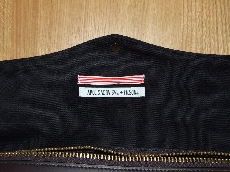 Filson Apolis Activism Briefcase Tags