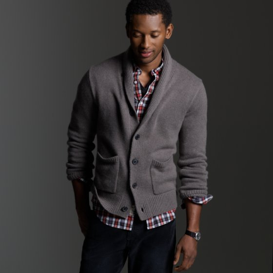 Jcrew Cashmere Shawl Collar Cardigan