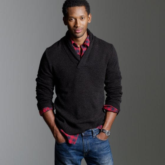 More september arrivals from j crew mister crew for Sweater and dress shirt combo
