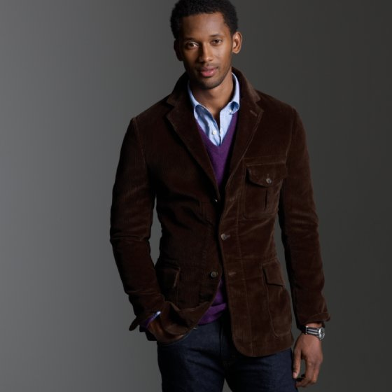 Jcrew Corduroy Hunting Jacket