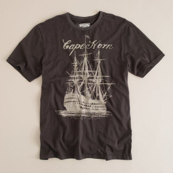 Jcrew Rogues Gallery tshirt 1