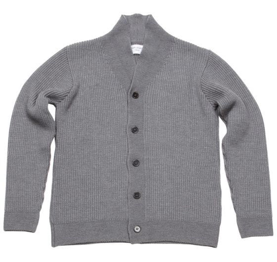 Our Legacy FW2009 Shawl Cardigan Grey