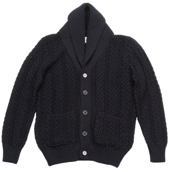 Our Legacy FW2009 Shawl Cardigan in Navy