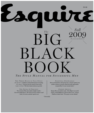 Esquire Big Black Book Fall 2009