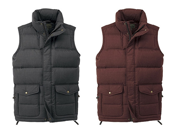 Filson Down Vests